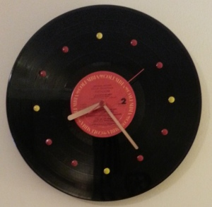 finished clock